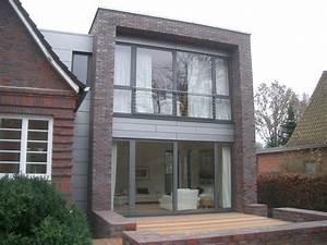 Moderner Anbau An Altbau : ansicht von westen mit terrasse anbau an einfamilienhaus ~ Lizthompson.info Haus und Dekorationen