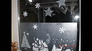 Fenster Bemalen Weihnachten : weihnachten fenstergestaltung mit window creme youtube ~ Watch28wear.com Haus und Dekorationen