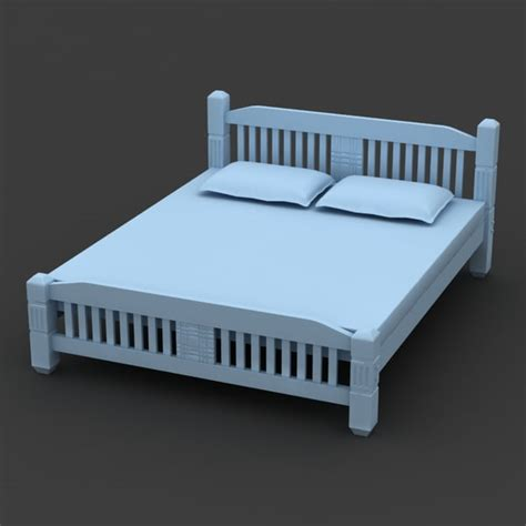 31258 quality used furniture 3ds max bed cot