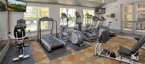 Apartment Fitness Center by Amenities At Azure Apartment Homes Apartments With A