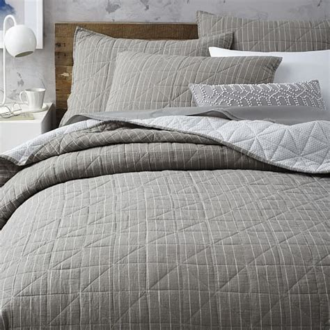 What Is A Coverlet by Nomad Coverlet Shams West Elm