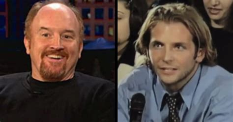 A Young Bradley Cooper Makes Louis Ck Eat His Words  Funny Video  Ebaum's World