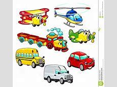 Lustige Fahrzeuge Stockbild Bild 26603121