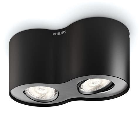 Philips myLiving Phase LED ceiling light/spot 2 heads