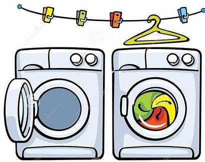 Clipart Dryer Washer Lavadora Washing Clothes Machines