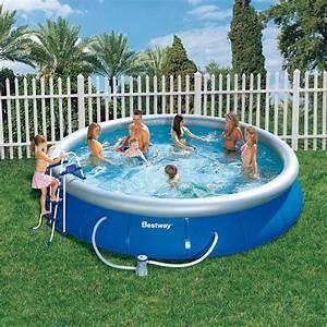 Bestway Pool Set : piscine ronde fast set pool bestway piscine autoportante piscine shop ~ Eleganceandgraceweddings.com Haus und Dekorationen