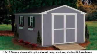 10x12 shed seneca value series gable sheds