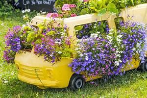 Jardiniere Fleurie Plein Soleil : fleurs d 39 t jardini res fleuries les plus originales ~ Melissatoandfro.com Idées de Décoration