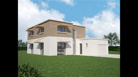 plan maison contemporaine rt2012 ma maison vosges 88
