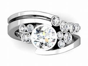 unusual diamond ring designs wedding promise diamond With custom design wedding ring