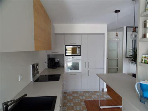 cuisine intégré cuisine colonne four frigo integre soa soa architecture
