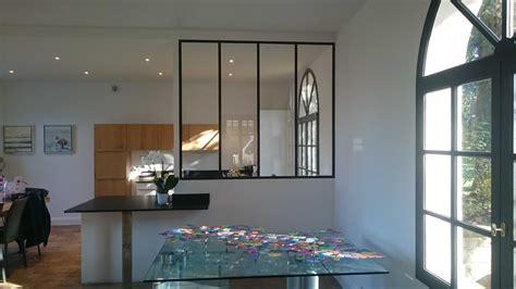 cuisine avec verri鑽e verriere separation cuisine photos de conception de maison elrup com