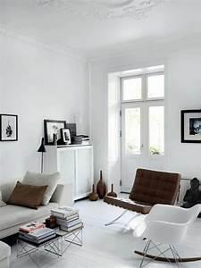 Stühle Im Eames Stil : skandinavische m bel im wohnzimmer inspirierende einrichtungsideen ~ Indierocktalk.com Haus und Dekorationen