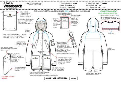 tech pack freelance fashion designer tech pack exle