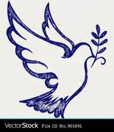 Holy Spirit Christian Dove Symbol