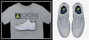 Air Jordan 12 Low Wolf Grey Sneaker Tee | SneakerFits.com