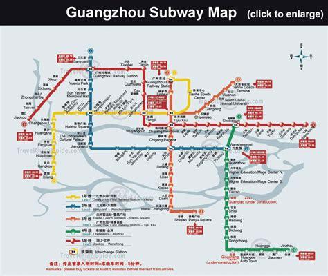 guangzhou subway map travelsfinderscom