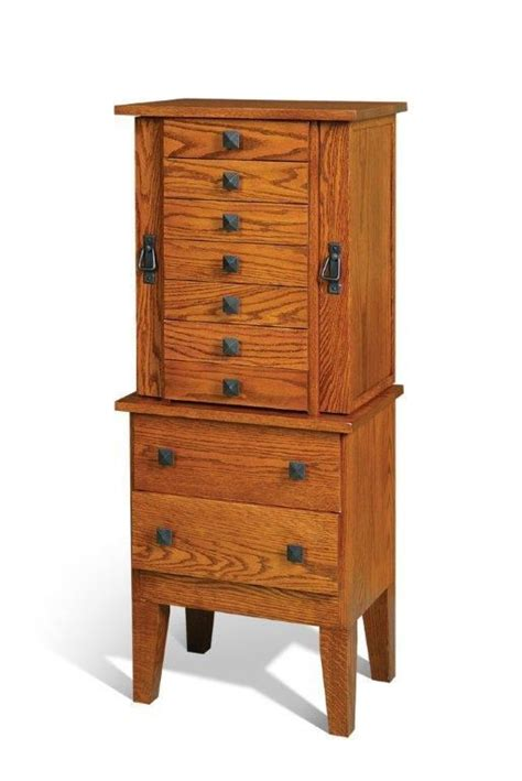 mission jewelry armoire armoires woodworking