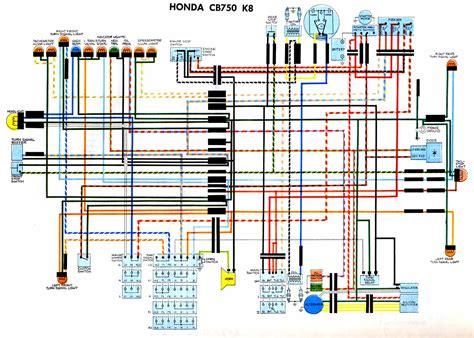 1978 Honda Cb750k Wiring Diagram by Wiring Diagrams