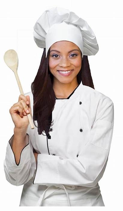 Chef Female Transparent Catering Chefs Cook Culinary