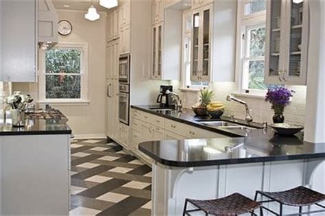 black and white kitchen tile ideas domowo i przytulnie szach mat czyli czarno biała kuchnia 9280