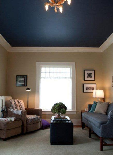 love this blue ceiling diy in 2019 blue ceiling