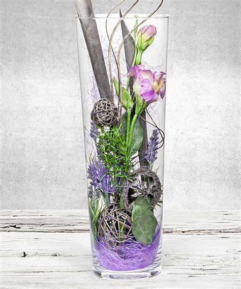 Dekoideen Für Vasen by Deko Vase Lisianthus Lila 40cm Jetzt Bestellen Bei