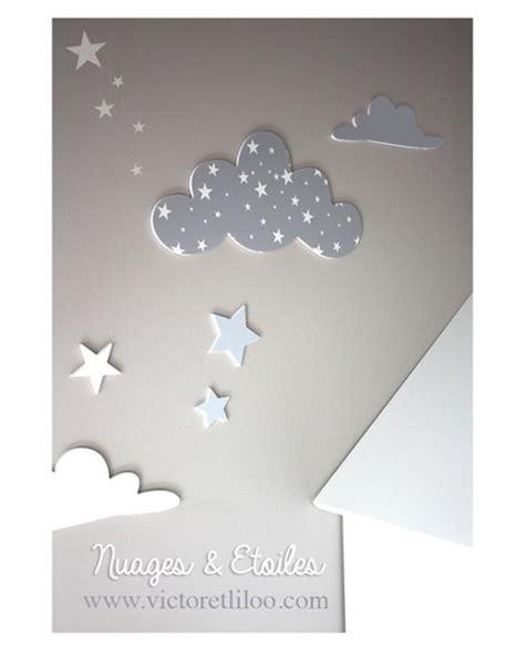 ciel étoilé chambre stickers nuages étoilés décoration chambre de luxe