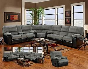 Furniture modern living room design ideas with grey for Sectional couch living room layout
