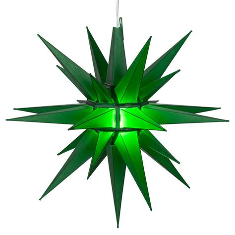green led lighted christmas moravian star indoor outdoor