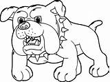 Coloring Dog Pages Cartoon Puppy Dogs Printable Bernard Drawing Puppies Angry Sheets Saint Pomeranian Fresh Getdrawings Getcolorings St Rottweiler Plants sketch template
