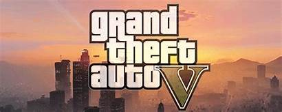 Theft Grand Gta Animated Games Gifs Title