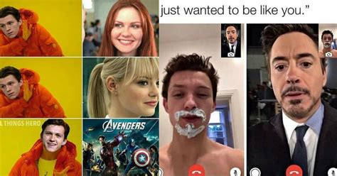 hilarious tom holland spider man memes