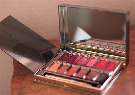 urban decay blackmail vice lipstick palette review swatches