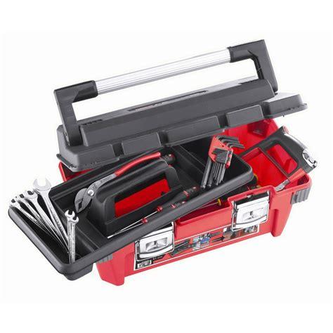 caisse a outil facom caisse 224 outils plastique facom 50cm 22 outils facom leroy merlin