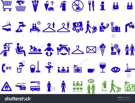 Set Of Universal Useful Symbols For Graphic Designers