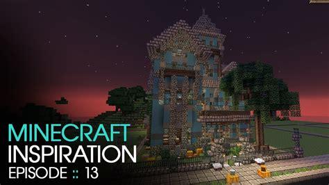 minecraft halloween haunted house inspiration  keralis youtube