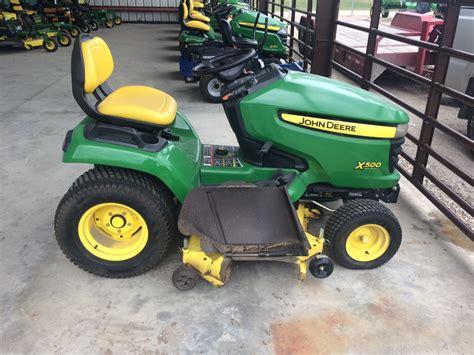 deere x500 attachments deere x500 lawn garden tractors for 63251 4906