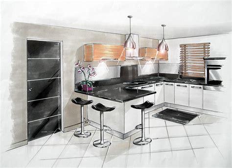 perspective cuisine réalisations aménagement et décoration d 39 un salon salle