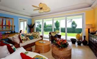 Tropical Living Room Color Ideas