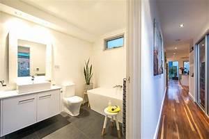 The, Neutral, Bathroom, Allows, For, Pops, Of, Colour, Through