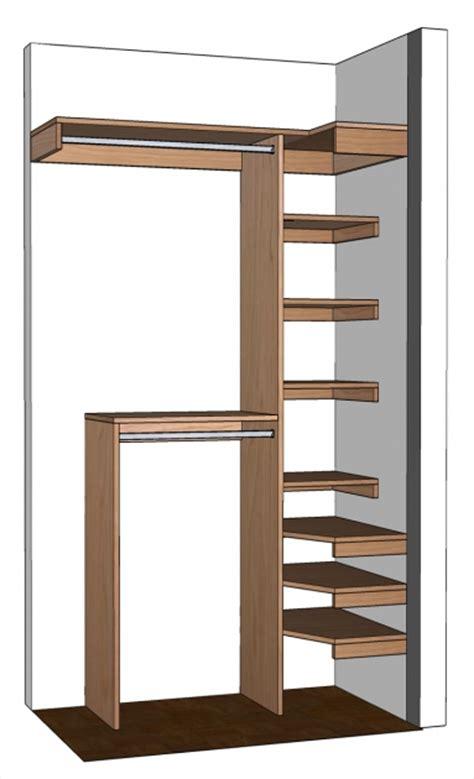 build your own closet organizer wardrobe closet design