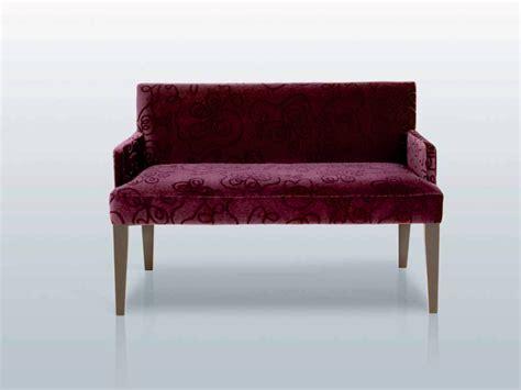 banc canapé petit canapé en tissu banc seaton accoudoirs collection