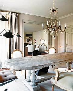 Grande table salle a manger 8 idee deco salle a manger for Idee deco cuisine avec table en bois brut