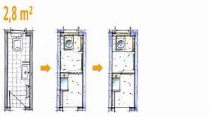 Gäste Wc Grundriss : badplanung beispiel 2 8 qm g ste wc wird zum g stebad kleines bad pinterest bad ~ Orissabook.com Haus und Dekorationen