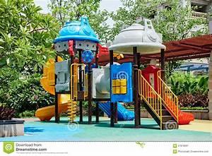School Playground Cartoon Stock Photos - Royalty Free Pictures