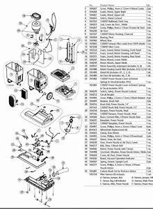 Proteam Proforce Vacuum Parts
