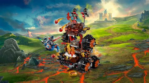 amazon siege lego 70321 nexo knights general magmar siege machine of
