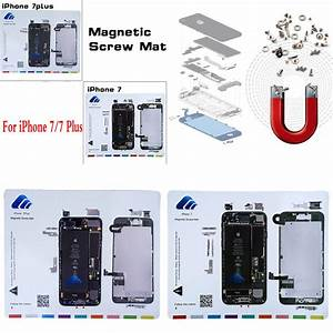 For Iphone 7 8 Plus Magnetic Screw Chart Mat Repair Guide