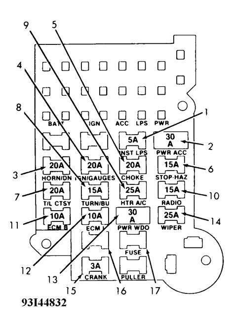 1993 Chevy S10 Blazer Fuse Diagram by For My 1993 S10 Blazer 4wd 1st I Need Wiring Diagram